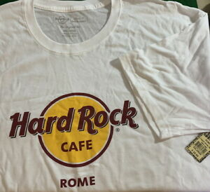 Hard-Rock-Cafe-ROME-2020-Classic-HRC-Logo-RED-CIRCLE-Tee-Shirt-26-034-x-19-034-2X-XXL