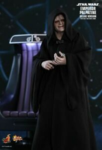 Hot Toys EMPEROR PALPATINE (DELUXE VERSION) STAR WARS EP6 ROTJ BRAND NEW