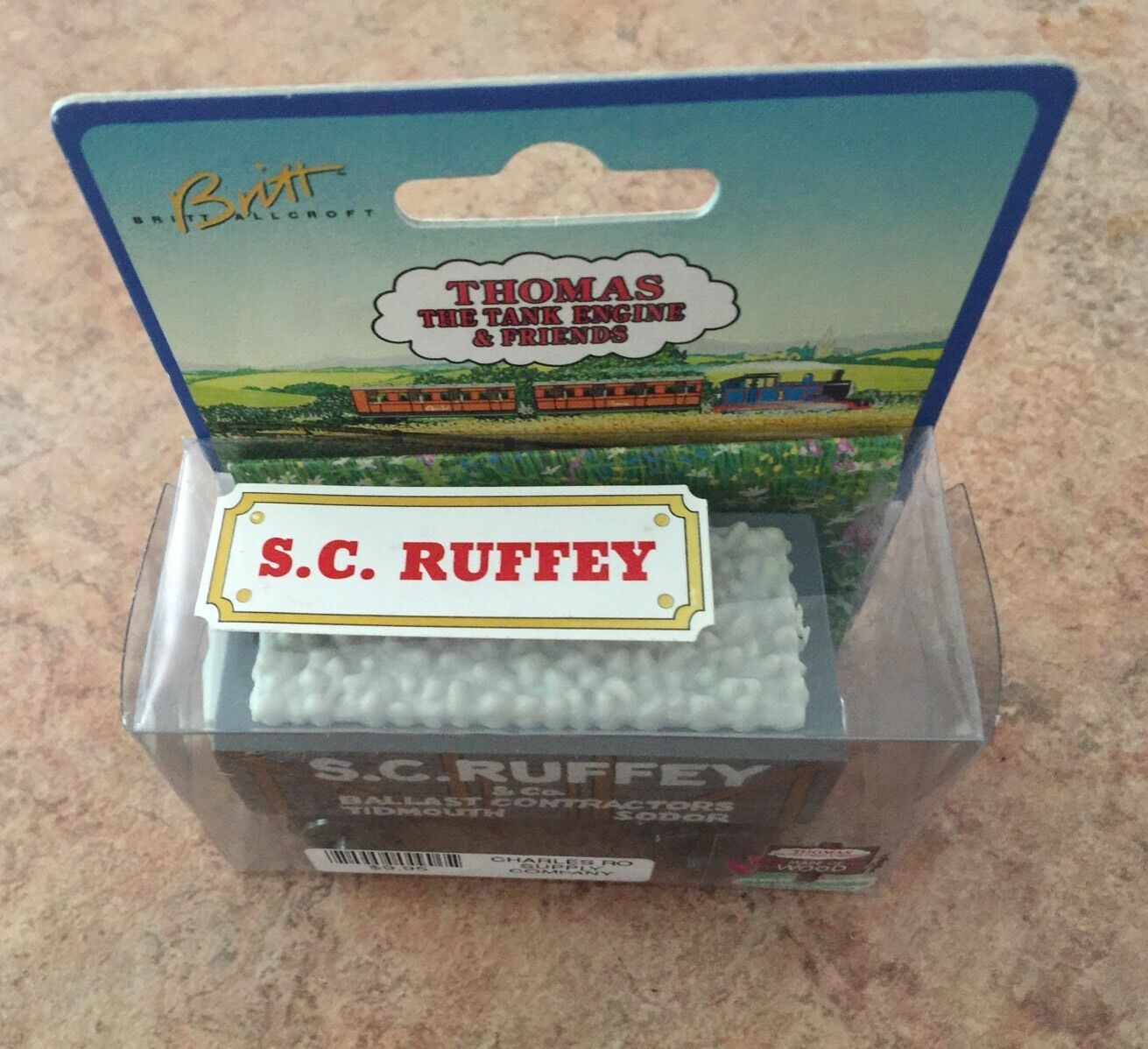 1996 Authentic Weiß Label Wooden Thomas Train 1st Issue S C Ruffey  NIB