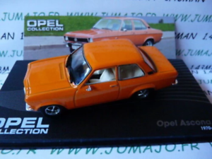 OPE88R-voiture-1-43-IXO-eagle-moss-OPEL-collection-ASCONA-A-1970-1975