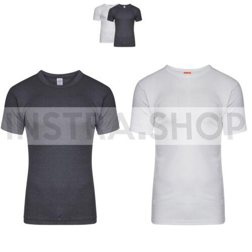 lot 1,3,6 Pairs Mens Thermal Short Sleeve T-Shirt Vest Winter Underwear //M L XL