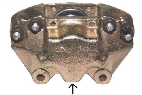 hinter der Achse 1093 Bremssattel Bremszange Brake Caliper Rechts Vorne