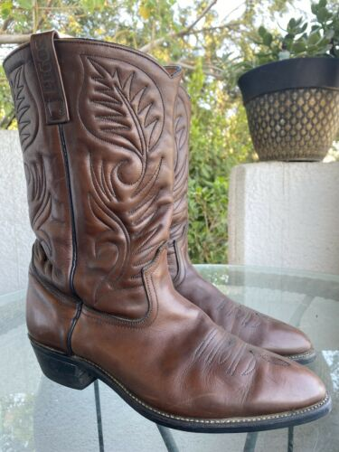 RED WING PECOS Cowboy Boots - 11.5 D - Excellent V