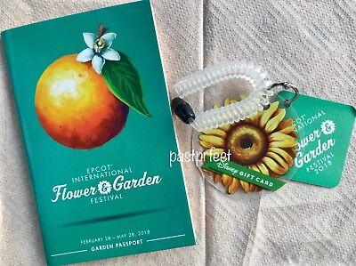 Disney Epcot International Flower And Garden Festival Orange Gift Card