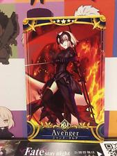 Fate//Grand Order FGO Arcade card Avenger Jeanne d/'Arc Alter Stage3 JAPANESE
