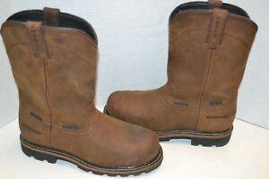 1de2ca7db86 Justin INTERNAL MET GUARD Work Boot Mens WYOMING WATERPROOF Comp Toe ...