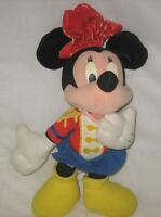 "14"" 1998 DISNEY HOMETOWN SPIRIT MINNIE MOUSE MARCHING BAND PLUSH DOLL"