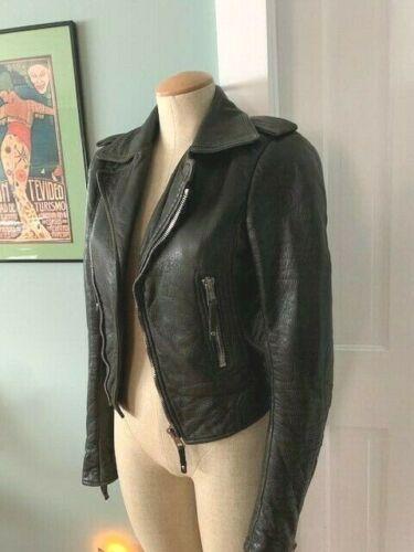 Balenciaga Motorcycle Leather Jacket