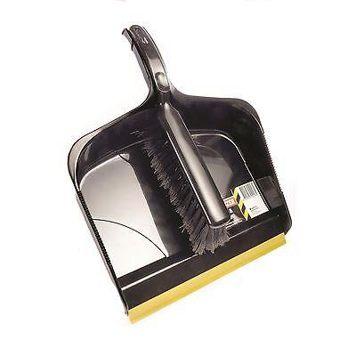 Other Home Cleaning Supplies Home & Garden Radient Sabco Bulldozer Dustpan & Brush Set Soft Rubber Lip Flagged Bristles Aust Brand