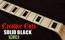 Blocks BLACK Fretboard Marker Inlay block Decal Sticker for Fender or ANY GUITAR