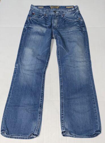 Big Star Buckle Voyager Loose Cotton Blue Jeans Me