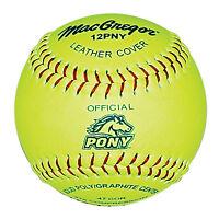 Macgregor Pony Approved 12 Softball - 1 Dozen on sale