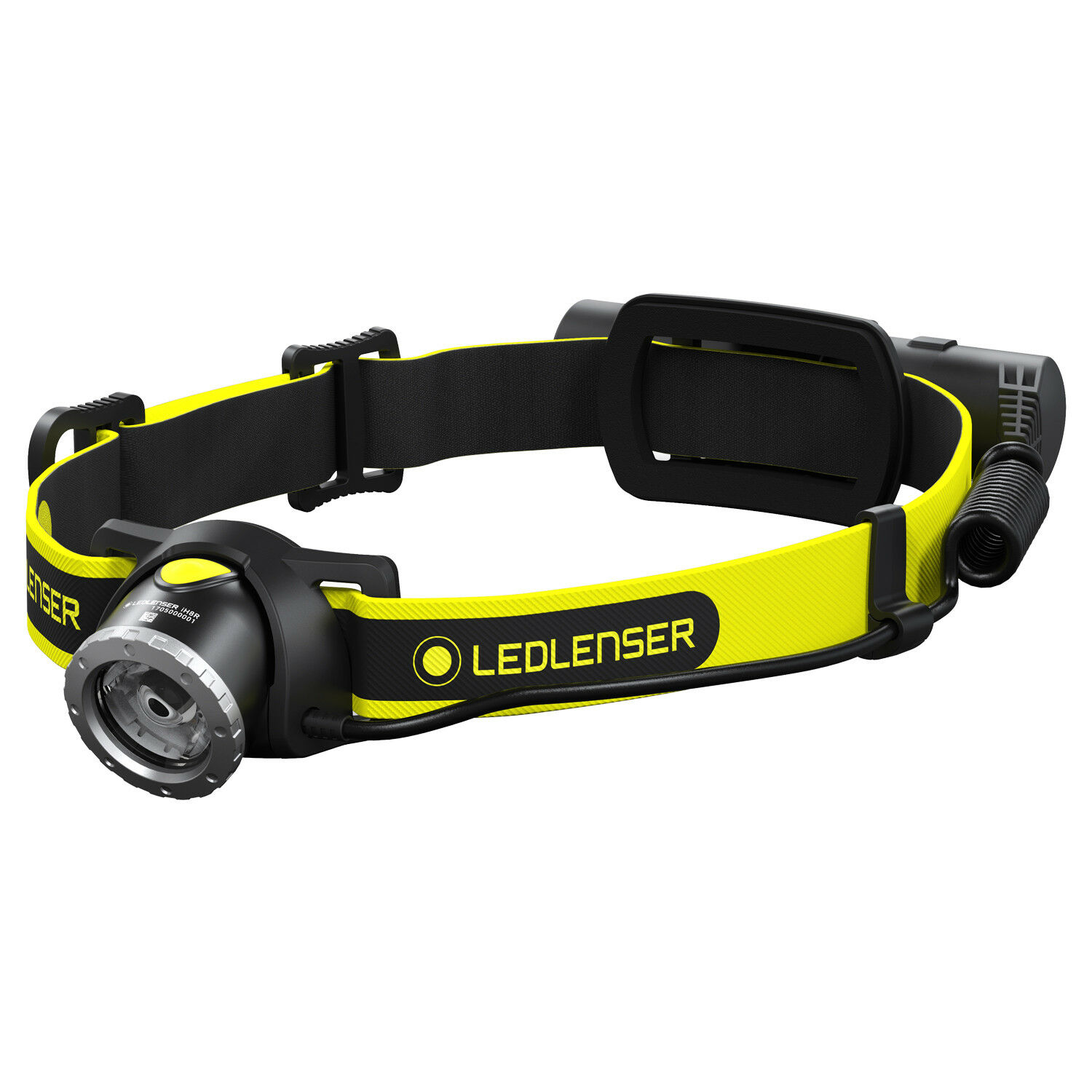 LED Lenser iH8R Rechargeable Head Light Torch 600 Lumens   clearance up to 70%