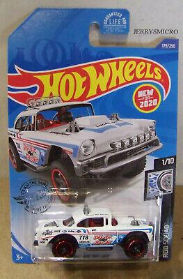 White DieCast Hotwheels Big-Air Bel-Air 179//250 Rod Squad 1//10