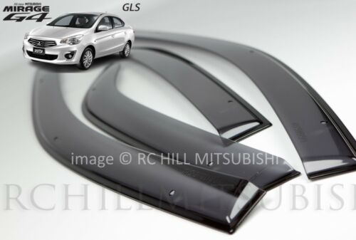 2017 GENUINE MITSUBISHI MIRAGE G4 4DOOR SIDE VENT WINDOW SHADE VISORS MZ330689