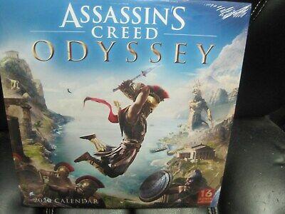 Assassin Value List 2020.2020 Assassins Creed 16 Month Wall Calendar Ebay