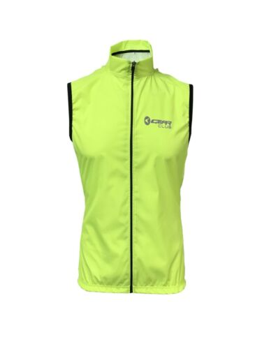 Cycling Gilet Man Bicycle sportswear Fluorescent