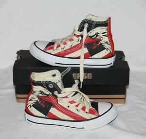 Chuck Tama guila Rojo 10 Taylor Usa Converse Azul Kids All o Star High Zapato Nwb qUE7Swx