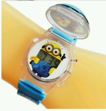 2015 Despicable Me Minions style cartoon digital watch for children.