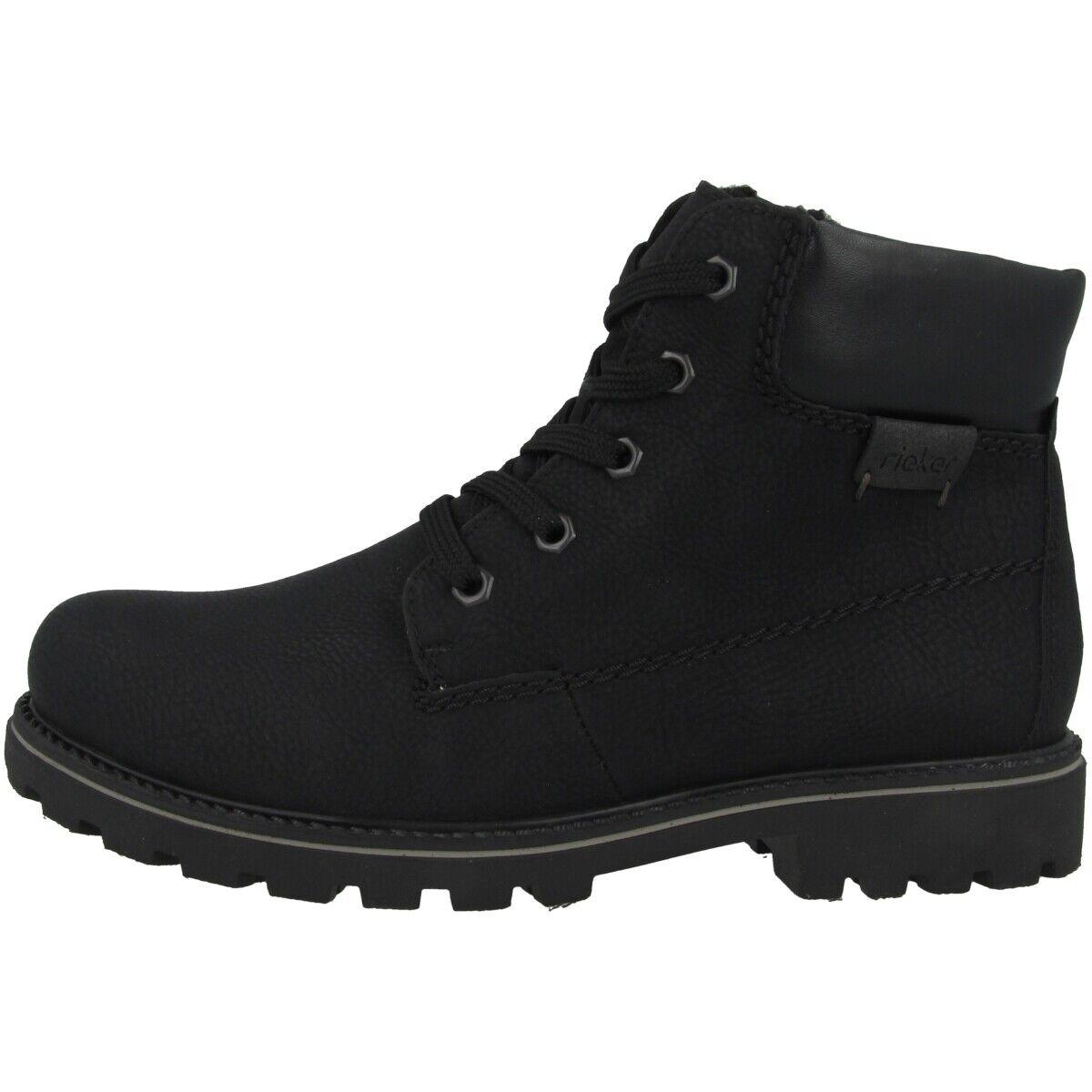 designer fashion c1ba6 2a1dd Namur-Florenz-Napoli Rieker Schuhe Stiefel Z1420-00 schwarz ...