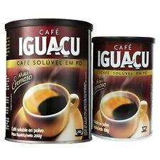 IGUACU Dried Instant-Coffee Powder From Brazil 200g x 1 in Can-tin