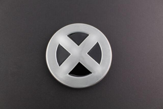Xmen Shield Metal Belt Buckle Marvel Comic Book Movie Dead Pool Ebay