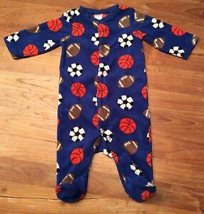 Schlafanzug-Overall-Pyjama-Fleece-Carters-9M-Ca-Gr-74
