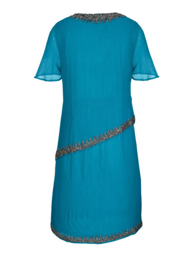 taille 46 taille 52 051880231 0 Marques Robe petrol avec perles broderie taille 42 taille 44