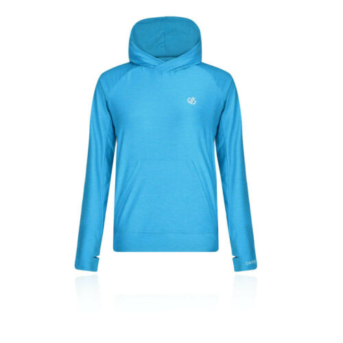 Dare 2b Womens Sprint City Lightweight Hoodie Blue Sports Running Gym Hooded