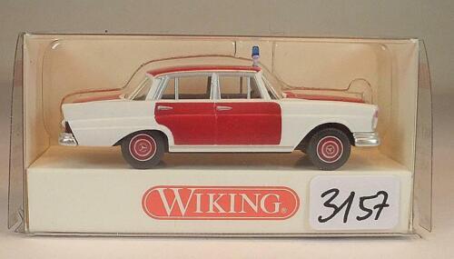 861 05 31 Mercedes Benz 220 S Feuerwehr OVP #3157 Wiking 1//87 Nr
