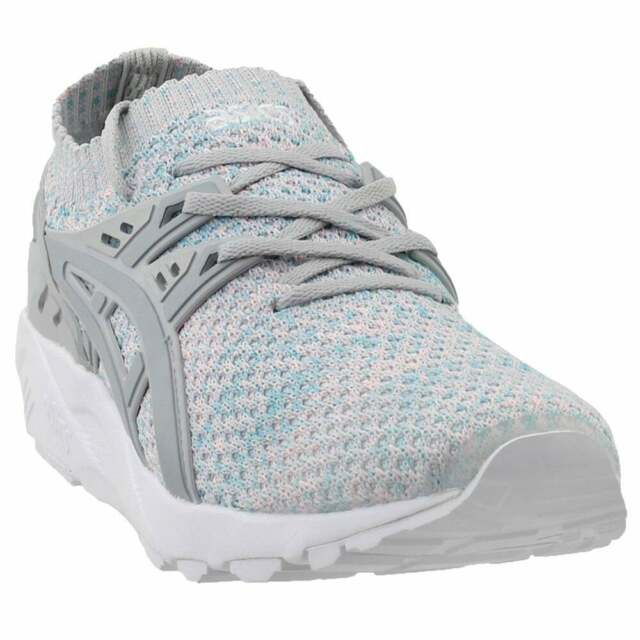 pretty nice d6949 30001 ASICS GEL-Kayano Trainer Knit Athletic Training Stability Shoes Grey - Mens  -