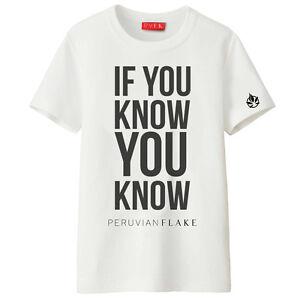 SE-You-Know-EDIZIONE-LIMITATA-Peruvian-FLAKE-x-Forbidden-fruitz-Maglietta