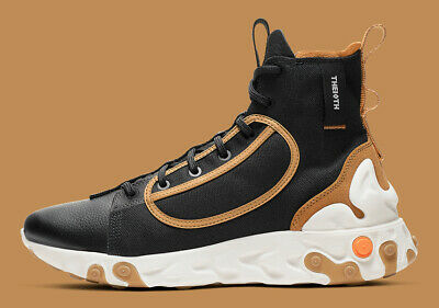 Details about Nike React Ianga Black Wheat Men's size 12.5 New without box !