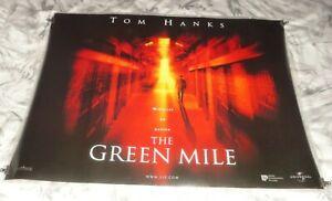 The Green Mile Original UK Quad Movie Cinema Poster 1999 Tom Hanks
