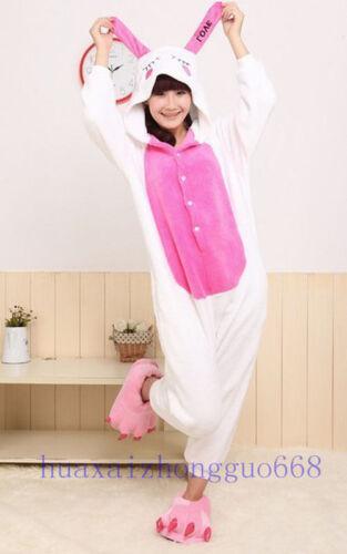 Hot Unisex Adult Pajamas Kigurumi Cosplay Costume Animal Sleepwear Dress