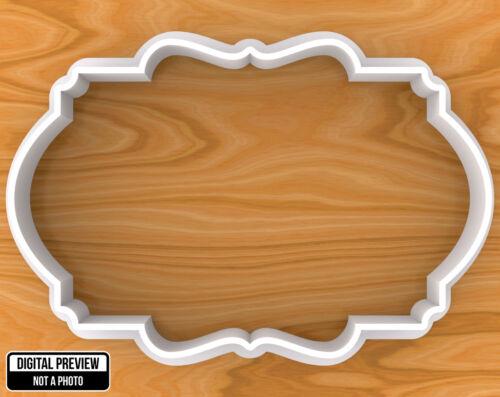 Sélectionnable Tailles #6 Vintage plaque cadre Cookie Cutter
