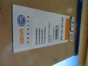 HELLA Kompressor, Klimaanlage 8FK 351 001-381