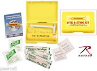 Sawyer Extractor Snake Bite And Sting First Aid Kit