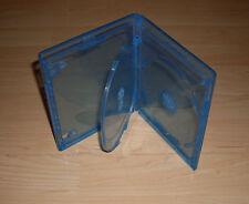 Blu Ray Hülle Dreifach 3fach 3-fach blau Blu-Rays Blue Ray 3er 11mm Neu