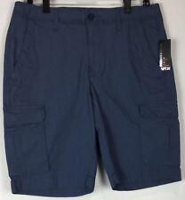 New APT 9 Men Stretch Flex Waistband Cargo Shorts Off White Size 33-40 MSRP $48