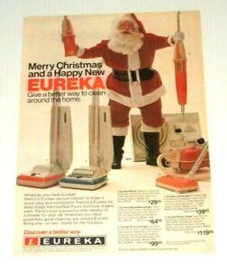 1977-Print-Ad-Eureka-Vacuum-Cleaner-Santa-Claus-Vintage-70s-Advertisement
