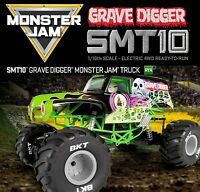 Axial 1/10 Grave Digger 4wd Monster Jam Rtr Rc Truck 90055 Free Ship