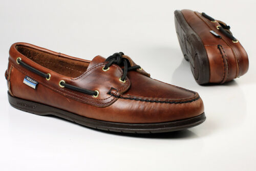 Ladies Sebago Victory Brown Waxy Deck//Casual Shoes PERFECT GIFT IDEA