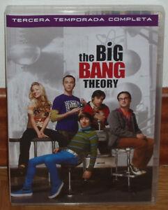 THE-BIG-BANG-THEORY-3-TEMPORADA-COMPLETA-3-DVD-NUEVO-SERIE-COMEDIA-SIN-ABRIR