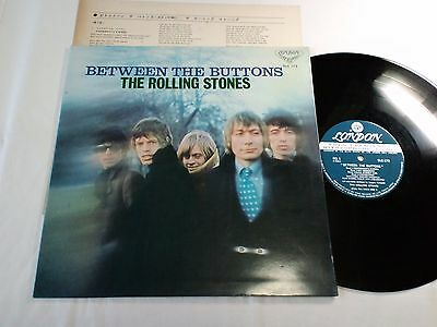 ROLLING STONES BETWEEN THE BUTTONS JAPAN ORIGINAL SLC137 DIFF COVER without OBI