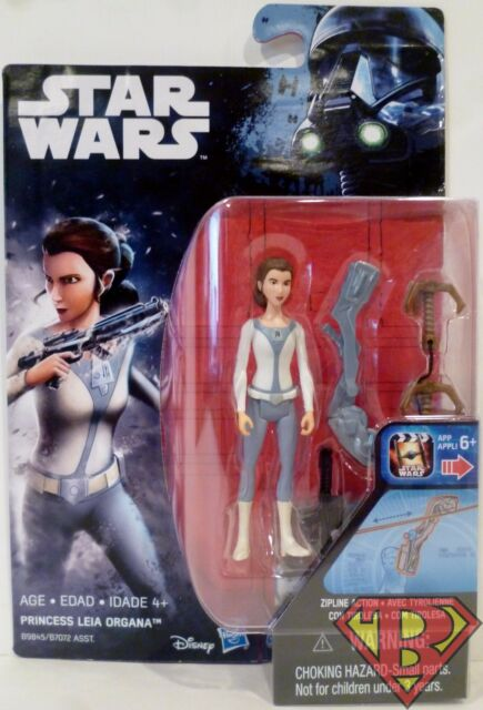 "Star Wars Rebels 3.75/"" ActionFigure Princess Leia Rogue One Card"
