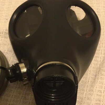 Current Gas Mask Adult, new NATO canister be prepared, emergency real ready #N