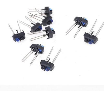 10PCS TCRT5000 SENSOR OPTO TRANS 15MM REFL PCB Mount NEW
