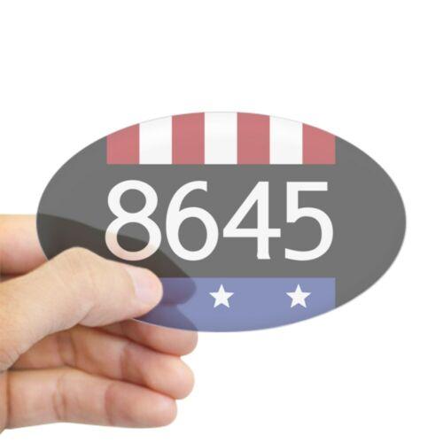 223336754 Euro Oval Car Decal CafePress 8645 Sticker Oval Bumper Sticker