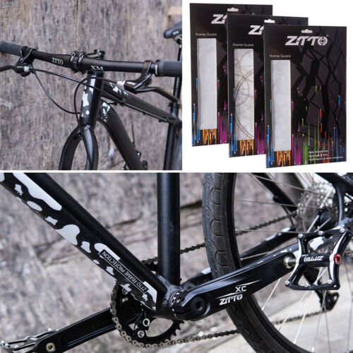 MTB Fahrrad Rahmen Kratzfest Schützend Abnehmbare Aufkleber Für ZTTO 3D YT Capra